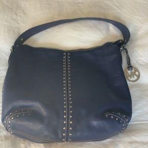 Blue Michael Kors Shoulder Bag